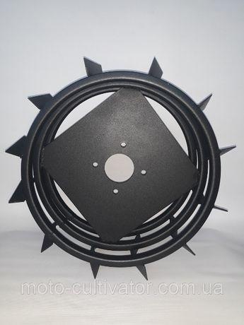 Грунтозацепы для мотоблока усиленные (железные колеса) Ø 450 мм.