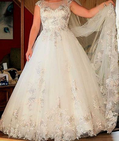WYPRANA Suknia ślubna Natali