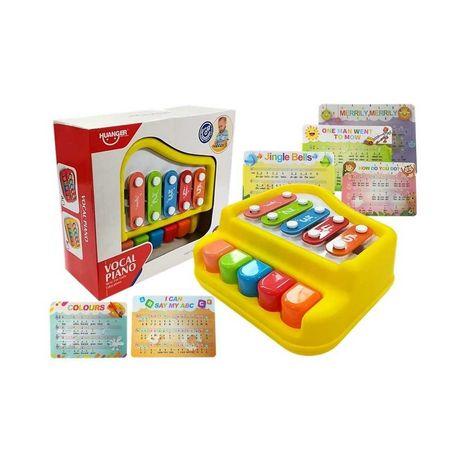 PIANINKO CYMBAŁKI dla niemowląt organki keyboard zabawki interaktywne