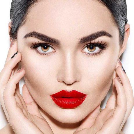 Перманентный макияж бровей, губ и глаз.