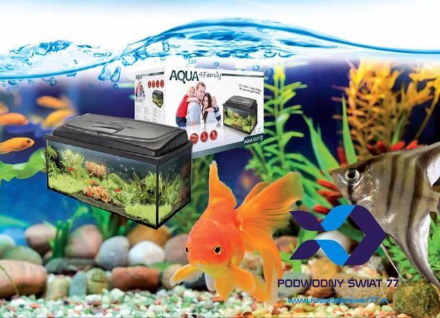 Zestaw akwarystyczny Aquael Aqua4Family - nowy 2l gwar - akwarium