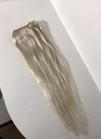 Натуральные волосы для наращивания, русские, накладные тресы