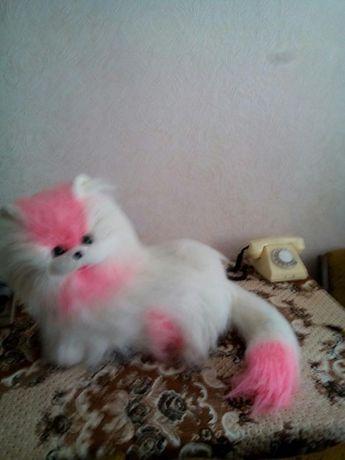 Котик пушистый для девочки