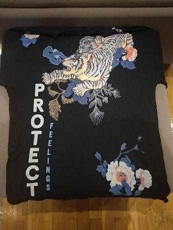 T-shirt tigre da proteção chinês
