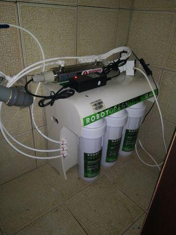 Maquina de filtrar a água