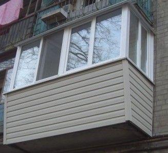 Балконы- Остекление ПОД КЛЮЧ (окна, двери ,металопластик, расширение)