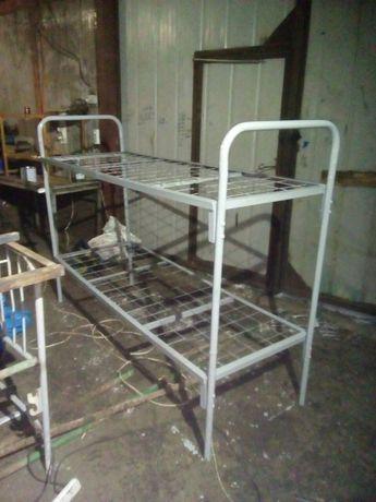 Кровать двухъярусная металлическая.новые и б.у.есть опт.