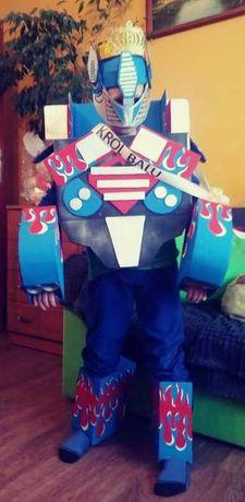 Kostium Transformers własnoręcznie wykonany