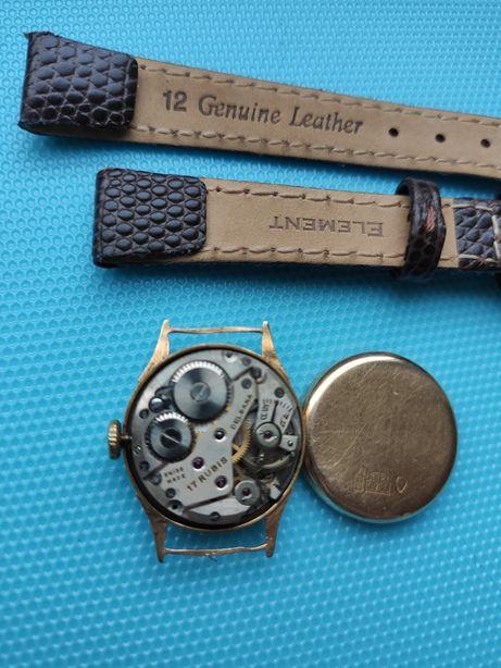 Швейцарские золотые часы Delbana золото 750 пробы.