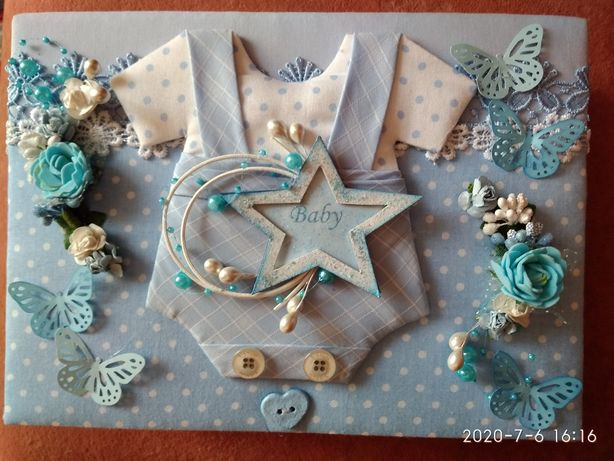 Шкатулка для новонароджених мамині скарби для хлопчика
