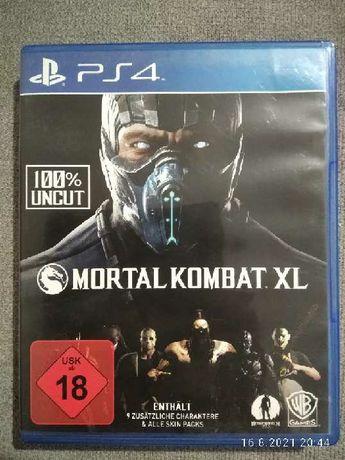 Gra Mortal Kombat xl na PS4