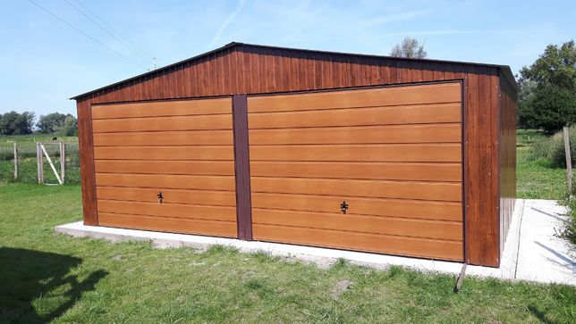 Garaze blaszane garaz blaszany blaszak PANEL GRATIS 6x5 5x6 6x6 7x5