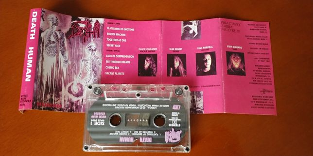 DEATH - HUMAN kaseta magnetofonowa