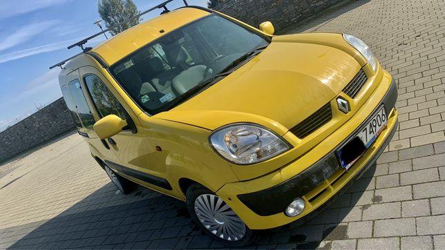 Renault Kangoo 1,2 benz.sprawny ładny salon PL