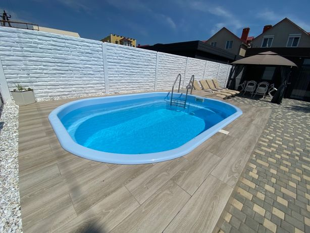 Дом / дача с бассейном у моря в Затоке (Каролино Бугаз). Для 6 человек