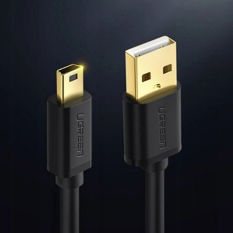 Ugreen kabel przewód USB - mini USB 480 Mbps 2m Gwarancja 24msc