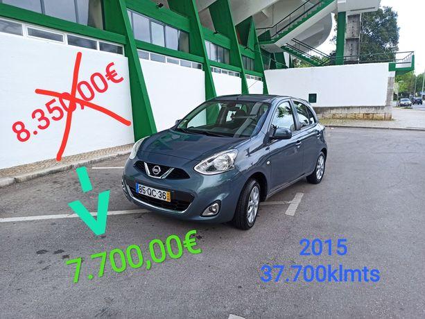 Procura carro usado c pouco uso ?? PARTICULAR Nissan Micra 37.700klmts