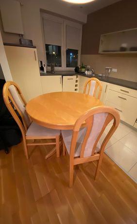 Okrągły stół i 4 krzesła