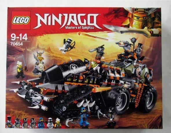 OSTATNIE Klocki LEGO 70654 Ninjago Dieselnauta WYSYŁKA przez OLX