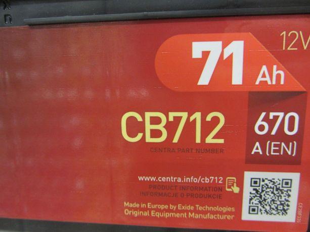 Akumulator CB712 71Ah 670A P+ 12V