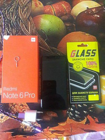Продам отличный смартфон оригинал  Redmi note 6 pro