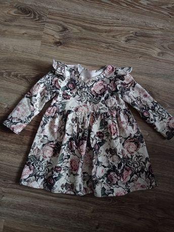 Sukienka w kwiaty rozm.92
