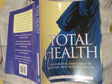 книги здоровье на английском David Peters Total Health Дэвид Питерс