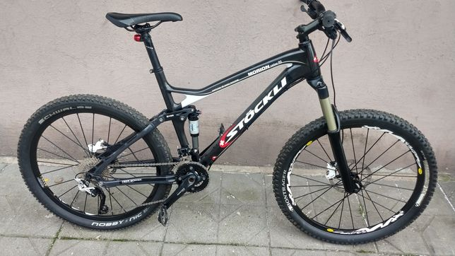Rower Stockli Morion Carbon Rs full enduro jak nowy zamiana