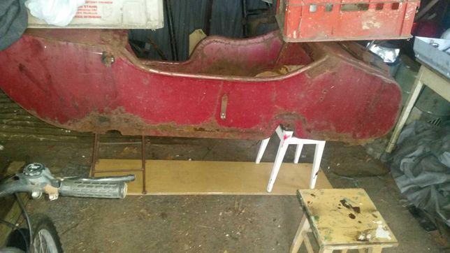 ural dniepr k 750 bmw kosz gondola wózek boczny