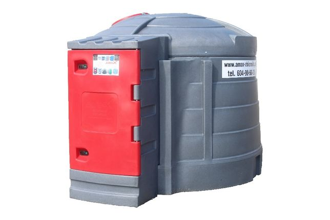 Zbiornik dwupłaszczowy pojemność 5000 l na olej napędowy RATY AMAX