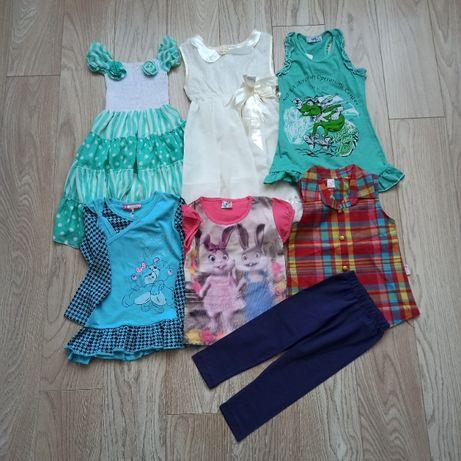 Пакет новой летней одежды для девочки, 4 года