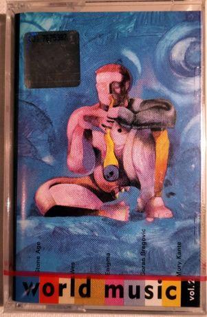 World Music, vol. 2, nagrana kaseta magnetofonowa, nowa w folii