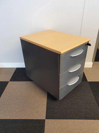 Kontener pod biurko STEELCASE - mobilny na kółkach