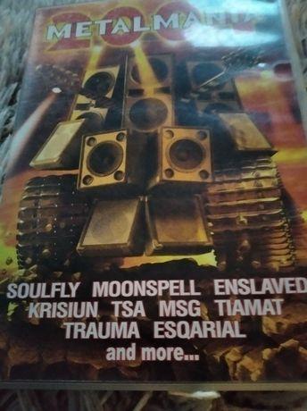 Płyta DVD-VIDEO  i CD Metalmania  wszystkie nowe