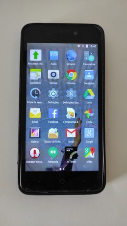 Smartphone NOS Five - ZTE Blade A452 Black 1Gb / 8Gb
