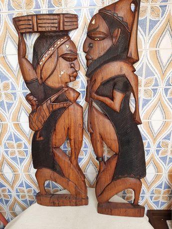 Arte africana em bom estado