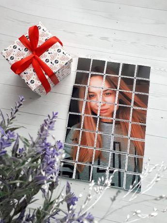 Шоколад с фото - подарок девушке, парню