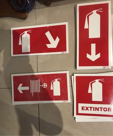 Sinaletica extintores