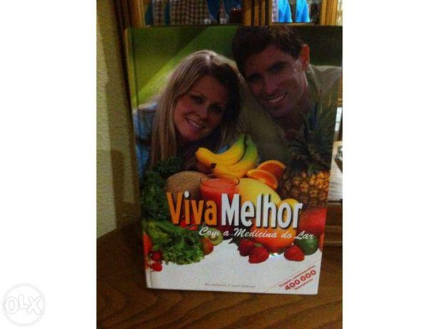 Vendo livro novo de receitas saudáveis