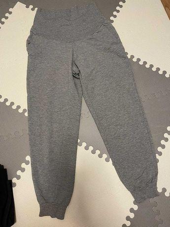 H&M mama joggersy ciążowe szare rozmiar M