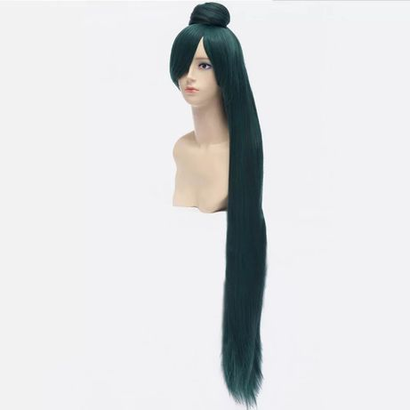 Anime wig Sailor Moon Sailor Pluto Meiou Setsuna peruka do cosplay