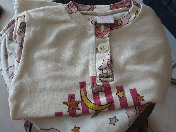 Pijama tam 4 anos e bolsa
