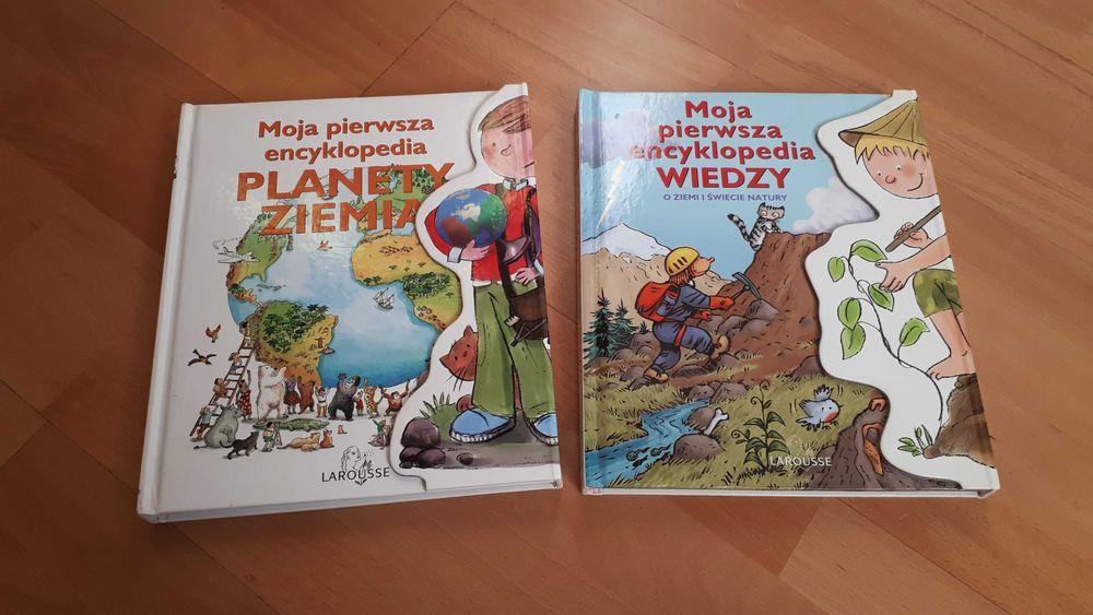 Zestaw dwóch encyklopedii dla dzieci Łaziska Górne - image 1