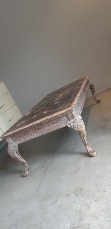 Ława stolik kawowy stół styl ludwik