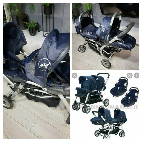 Wózek dla bliźniaków, rok po roku, jane twin two