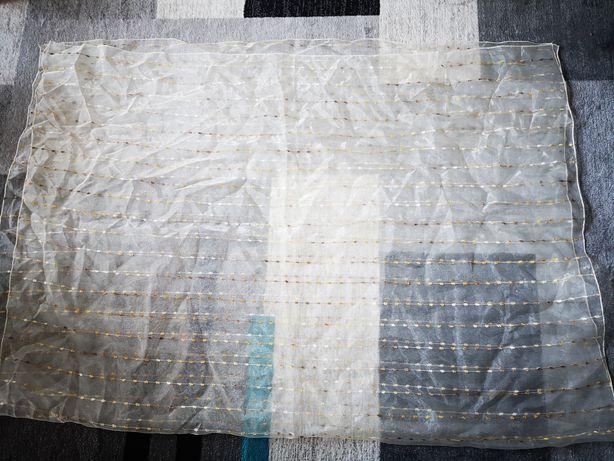 Firany 140 x 200 i zasłony 140x280 - po 2 sztuki