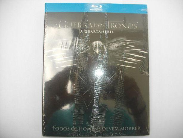 (Novo) Série 4: A guerra dos tronos em Blu-ray Disc