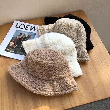 Тренд 2021 панама каракуль , Велюровая шапка ,шапка тедди барашек