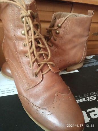 Шкіряні демісезонні черевички