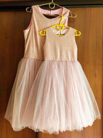 Продажа прокат платья family look из евросетки